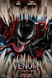 VENOM: LET THERE BE CARNAGE – STARTS SEPTEMBER 30TH
